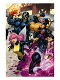 Secret Invasion: X-Men 2 Cover: Pixie  Nightcrawler and Cyclops