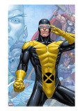 X-Men: First Class Finals 3 Cover: Cyclops