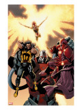 Ultimate X-Men 93 Cover: Wolverine  Phoenix  Apocalypse and Onslaught