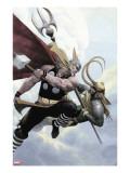 Loki No2 Cover: Thor and Loki