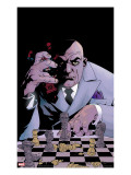 Kingpin 7 Cover: Spider-Man and Kingpin