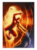 Marvel Comics 1 70th Anniversary Edition Cover: Human Torch