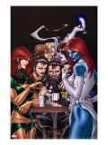 Wolverine Weapon X No10 Cover: Mystique  Phoenix and Wolverine