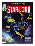 Marvel Preview 11 Cover: Starlord