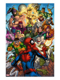 Spider-Man & The Secret Wars 2 Cover: Spider-Man