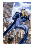 Marvel Adventures Fantastic Four 46 Cover: Mr Fantastic and Invisible Woman