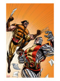 Wolverine First Class No21 Cover: Colossus and Wolverine