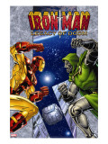 Iron Man: Legacy Of Doom 1 Cover: Iron Man and Dr Doom