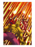 Marvel Adventures Super Heroes 2 Cover: Hulk  Spider-Man and Iron Man