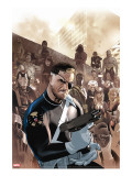 Dark Reign: New Nation 1 Cover: Nick Fury