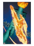 Marvel Knights 4 15 Cover: Human Torch