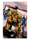 Dark Wolverine 75 Group: Thing  Human Torch  Invisible Woman and Mr Fantastic