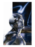 Ultimate Fantastic Four 43 Headshot: Silver Surfer
