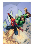 Marvel Adventures Spider-Man 6 Cover: Spider-Man and Sandman