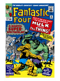The Fantastic Four 25 Cover: Hulk