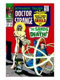 Strange Tales 158 Cover: Dr Strange and Living Tribunal