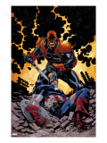 Captain America V4  32 Cover: Red Skull and Captain America Fighting