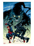 Amazing Spider-Man 513 Cover: Spider-Man  Green Goblin and Stacy Twins