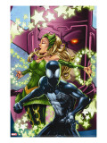 Spider-Man &amp; The Secret Wars 3 Cover: Spider-Man  Enchantress and Galactus