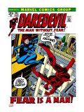 Daredevil 100 Cover: Daredevil and Black Widow