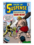 Tales Of Suspense: Iron Man 42 Cover: Iron Man and Gargantus