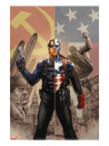 Captain America 44 Cover: Captain America and Winter Soldier