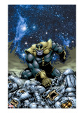 Thanos 4 Cover: Thanos