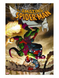 The Amazing Spider-Man 571 Cover: Spider-Man and Green Goblin