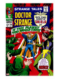 Strange Tales 160 Cover: Dr Strange and Baron Mordo
