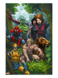 Marvel Adventures The Avengers 33 Cover: Wolverine