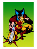 Wolverine 4 Cover: Wolverine Crouching