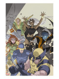 Uncanny X-Men: First Class 4 Cover: Wolverine  Cyclops  Phoenix  Storm and Nightcrawler