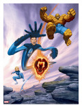 Ultimate Fantastic Four 6 Cover: Thing