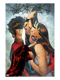 The Amazing Spider-Man 545 Cover: Spider-Man  Peter Parker  and Mary Jane Watson