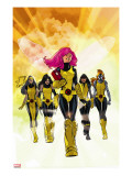 X-Men: Pixie Strikes Back 1 Cover: Pixie  X-23  Blindfold  Armor and Mercury