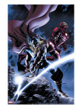 Thor 80 Cover: Thor and Iron Man