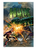 Incredible Hulk 71 Cover: Hulk and Iron Man