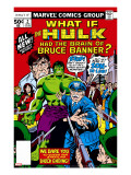 What If 2 Cover: Hulk  Thunderbolt Ross  Banner and Bruce