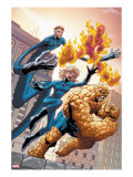 Marvel Age Fantastic Four 4 Cover: Mr Fantastic