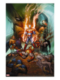 Dark Avengers/Uncanny X-Men: Utopia No1 Cover: Iron Patriot