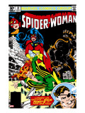 Spider-Woman 37 Cover: Spider Woman  Siryn  Juggernaut and Nick Fury