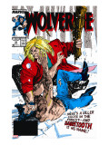 Wolverine 10 Cover: Wolverine and Sabretooth