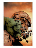 Hulk &amp; Thing: Hard Knocks 3 Cover: Hulk and Thing