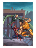 Marvel Adventures Spider-Man No7 Cover: Spider-Man  Kraven The Hunter and Vulture