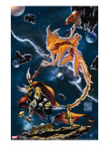Stormbreaker: The Saga Of Beta Ray Bill 3 Cover: Stardust and Beta-Ray Bill Flying