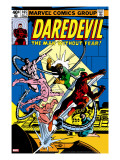 Daredevil 165 Cover: Daredevil and Doctor Octopus Crouching