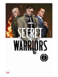 Secret Warriors 7 Cover: Nick Fury