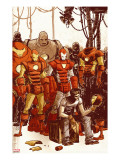 Iron Man & The Armor Wars No1 Cover: Stark and Tony