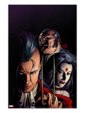 X-Men: Legacy 217 Cover: Shaw  Sebastian  Lady Sinister and Daken