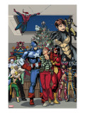 Marvel Holiday Special 1 Group: Captain America